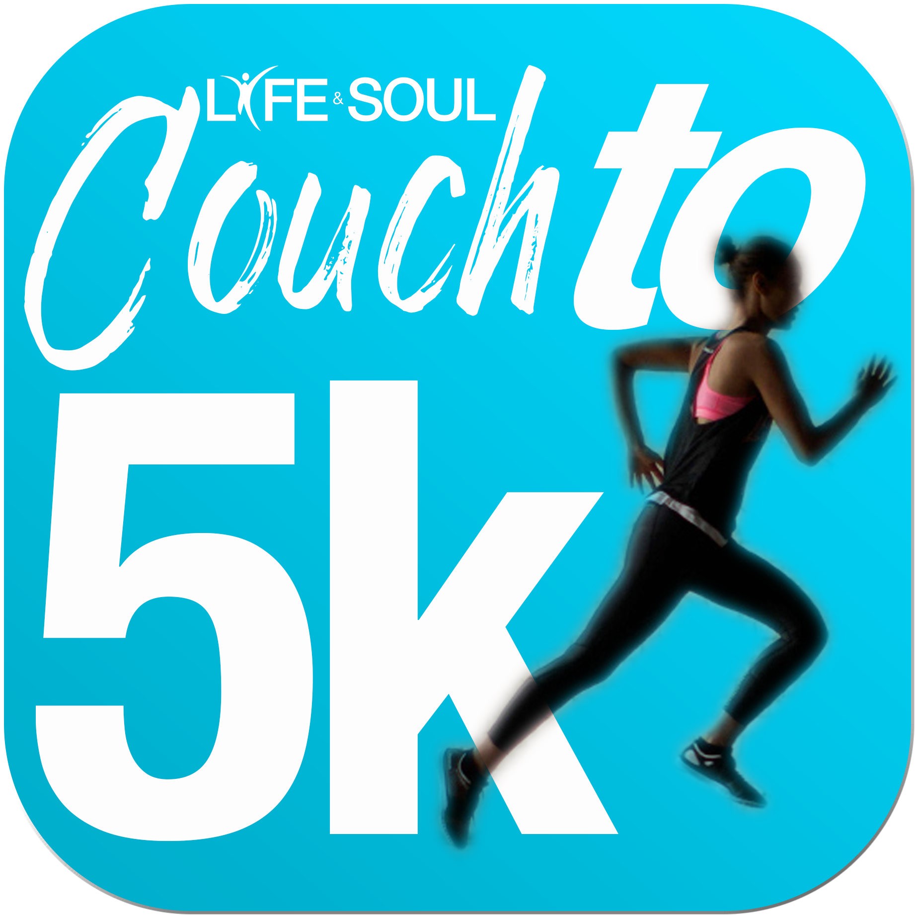 couch to 5 k logo to word
